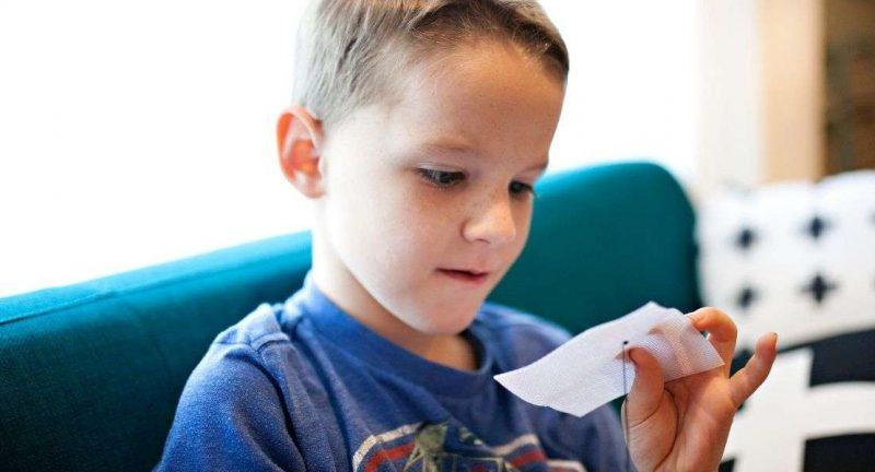 O sedinta de psihoterapie cu un copil